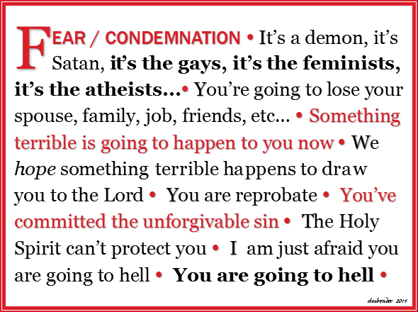 Fear Condemnation